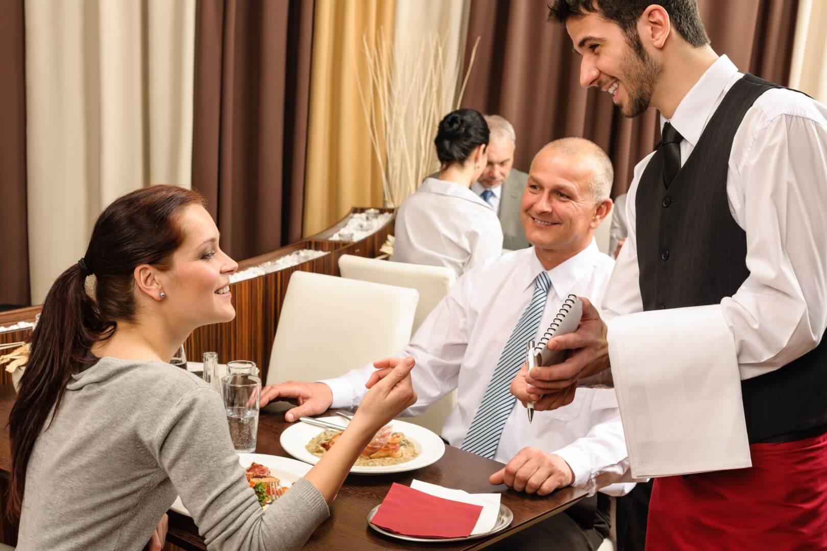 Тренинг для официантов